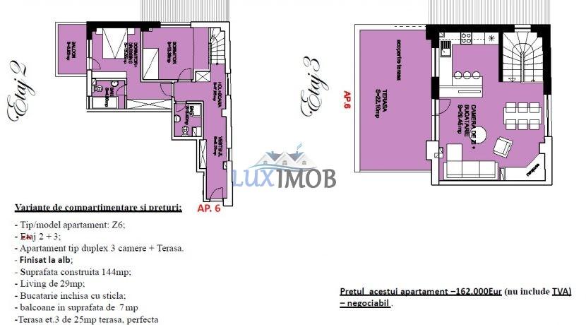 Ap 6 Duplex etaj2-3