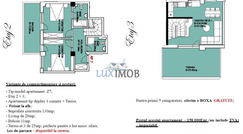Ap 7 Duplex etaj2-3