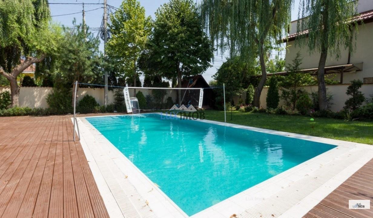 Case/Vile de închiriat în Corbeanca vila 10 camere lux cu piscina