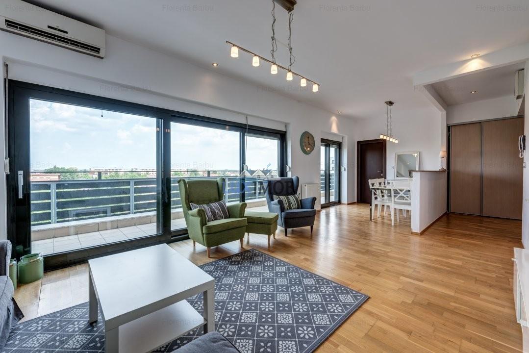 Apartament lux 3 camere Baneasa Natura Residence Privighetorilor